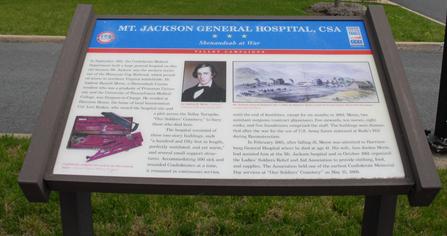 Hospital plaque