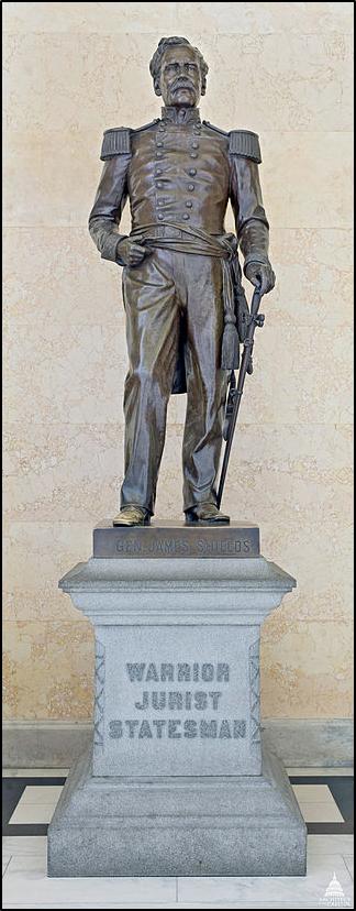 Shields statue