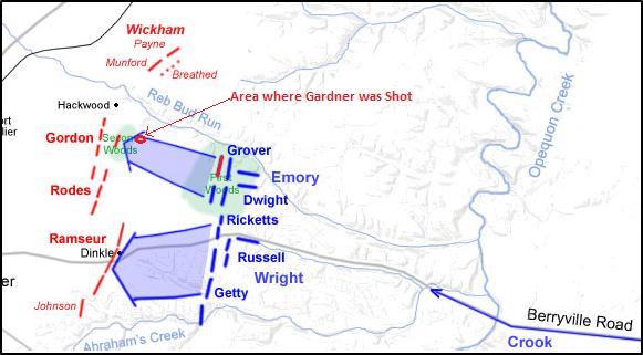 3rd winchester map gardner