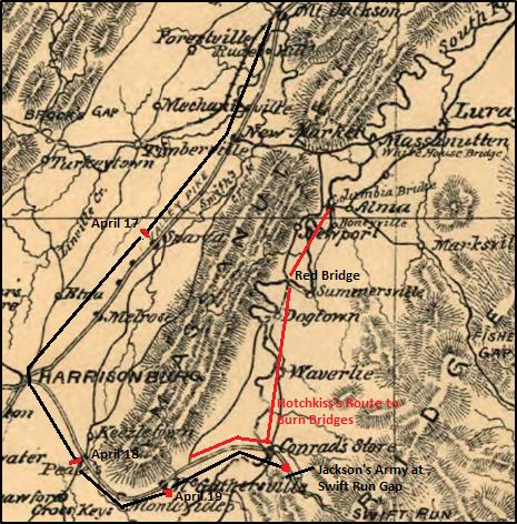 shenandoah map jackson extended