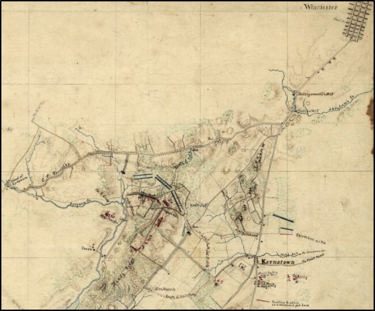 Hotchkiss map Kernstown