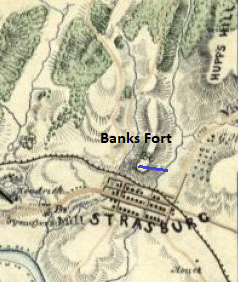 Banks Fort Map