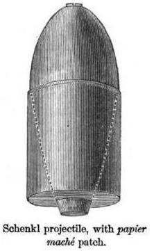 Schenkl artillery shell 2