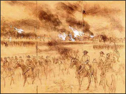 burning of Valley