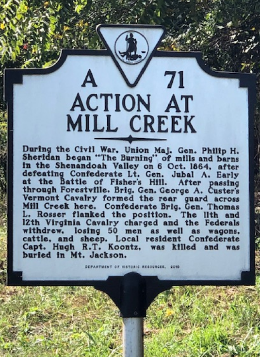 Mill Creek Sign