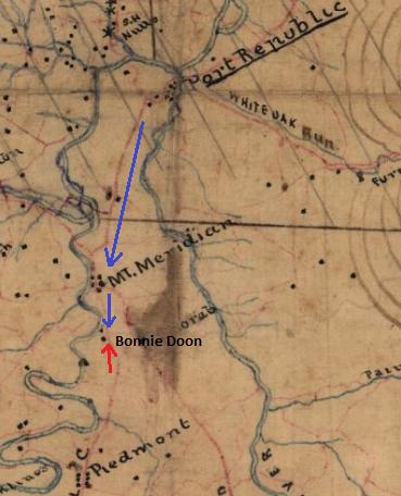 Bonnie Doon Map